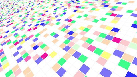 Colorful Tile background Bw 4 4k Animation