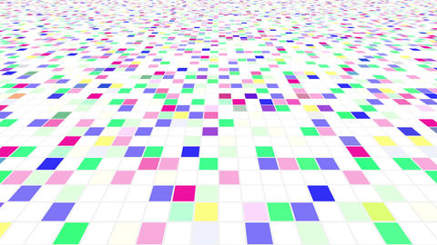 Colorful Tile background Cw 4 4k Animation