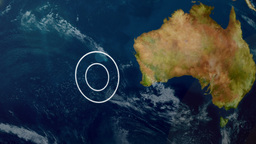 Indian Ocean Search Location Animation