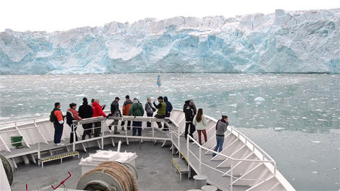 Point of view from the ship's bow approaching Lill Footage