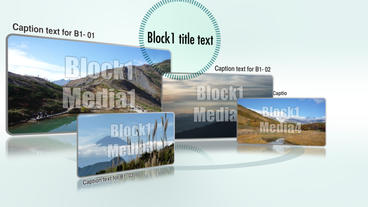 block Swing After Effects Template
