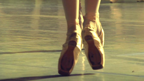 Two Ballet Dancers Footage