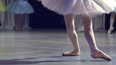 Ballerina Dancing Footage