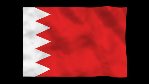 Flag A098 BHR Bahrain Animation