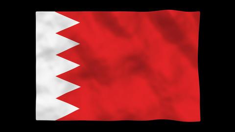 Flag A098 BHR Bahrain Animation