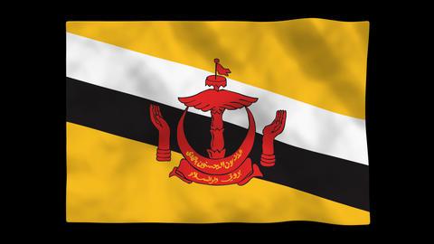 Flag A106 BRN Brunei Animation