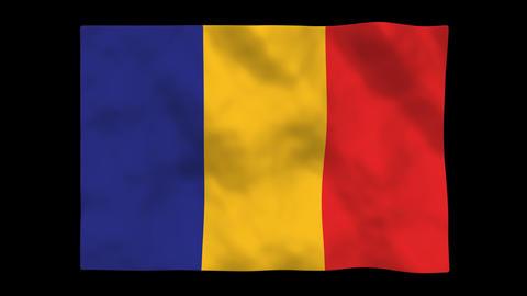 Flag A126 TCD Chad Animation