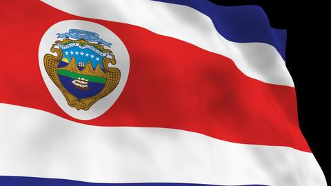 Flag B084 CRI Costa Rica Animation