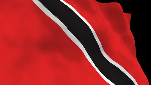 Flag B092 TTO Trinidad and Toba Animation