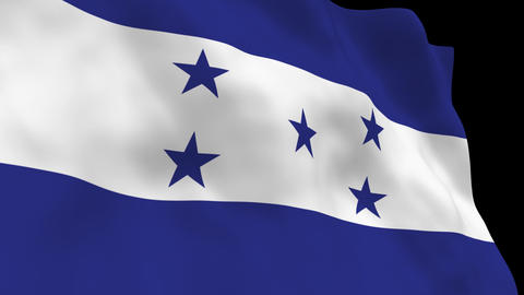 Flag B110 HND Honduras Animation