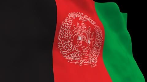 Flag B116 AFG Afghanistan Animation