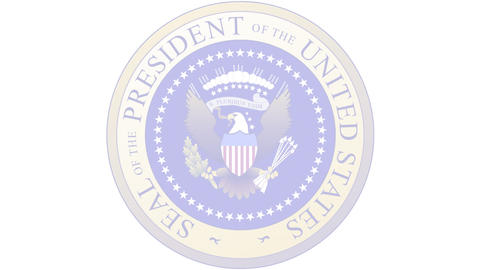 Presidential Seal 03 (25fps) Animation