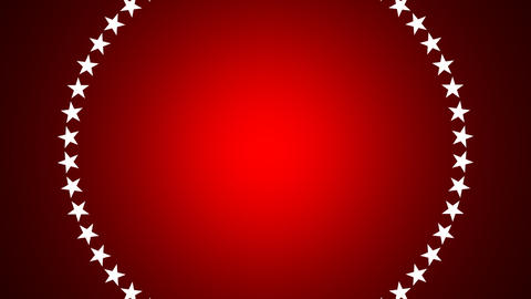 BG ROTATINGSTARS 11 red 24fps Animation