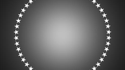 BG ROTATINGSTARS 12 gray 24fps Animation