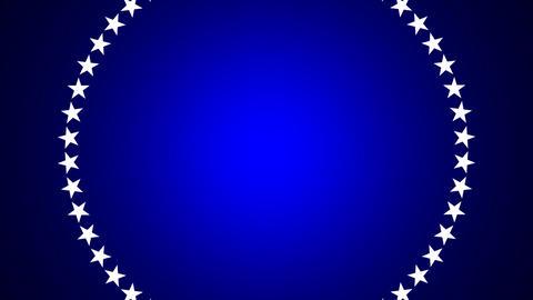 BG ROTATINGSTARS 10 blue 25fps Animation