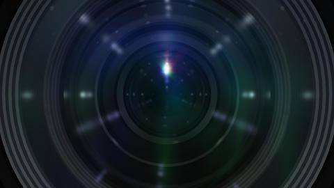 Lens Cen b ss Stock Video Footage