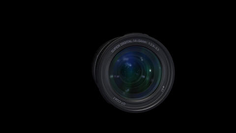 Lens L B ss Stock Video Footage