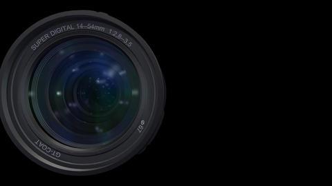 Lens Pan B ss Stock Video Footage