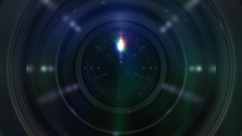 Lens R B ss Stock Video Footage