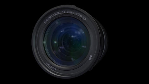 Lens Rot 2 B ss HD Stock Video Footage