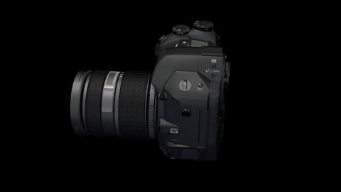 Lens Rot ss HD Stock Video Footage