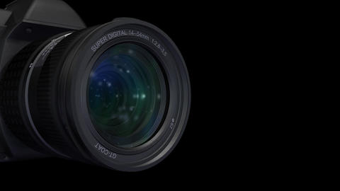 Lens Side ss Stock Video Footage