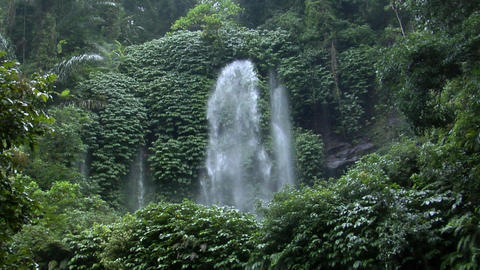 huge indonesia waterfall Footage