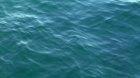 cyan water background Stock Video Footage