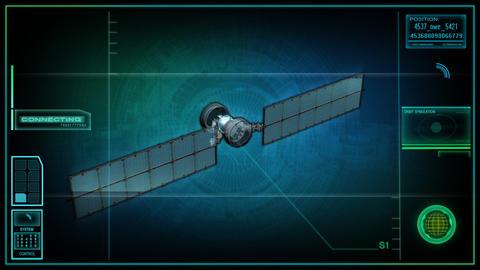spy satellite Stock Video Footage