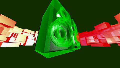 energized speakers Animation