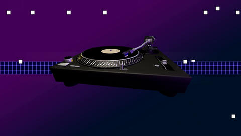 turntable tech Stock Video Footage