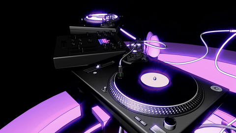 organic dj rig 2 Animation