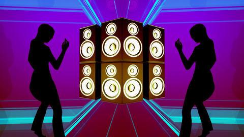 speaker dancer 3 Stock Video Footage