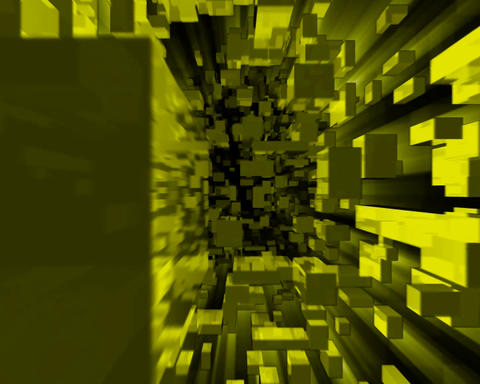 boxed in yellow Stock Video Footage