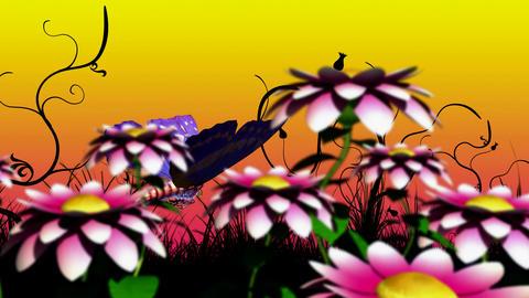 cybornetic butterfly Stock Video Footage