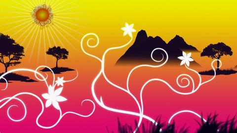 landscape swirl Animation