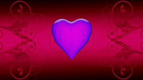 translucent love Stock Video Footage