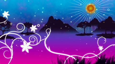 landscape swirl 2 Animation