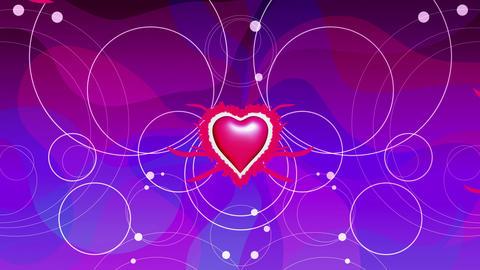 slow heart beat Animation