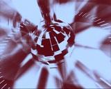 broken sphere Stock Video Footage