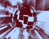 broken sphere Stock Video Footage