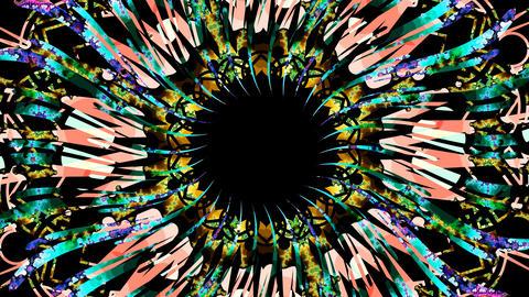 fractal mask 1 Stock Video Footage