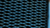 Blue Diamond Pattern Metal Frame stock footage