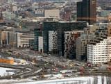Morning traffic. Oslo, Norway. 320x240 Footage