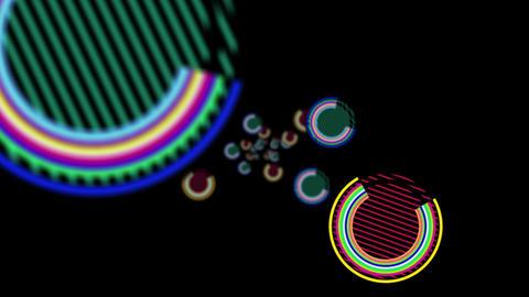 loop 9 circle 01 CG動画