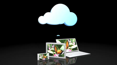 Cloud share Animation