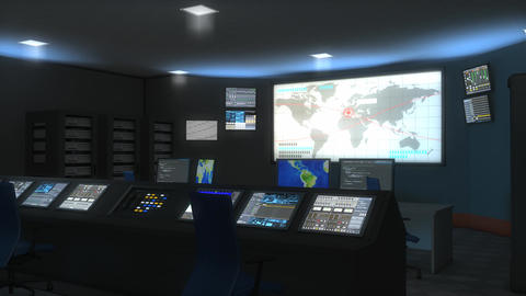 Command center, Stock Animation