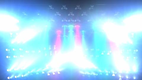 Concert lights flood, Stock Animation