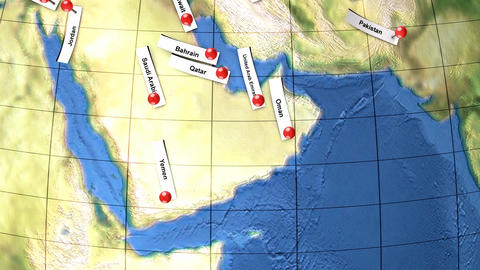 Asia pacific, Middle east and Ocenia Animation
