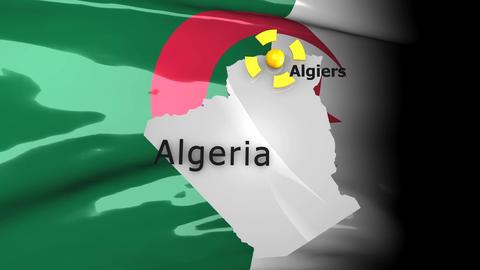 Crisis map Algeria Animation